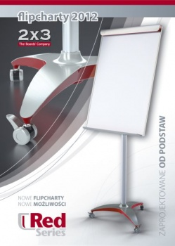 Red Series by 2x3, nowe flipcharty Eurochart Red i Mobilechart Red